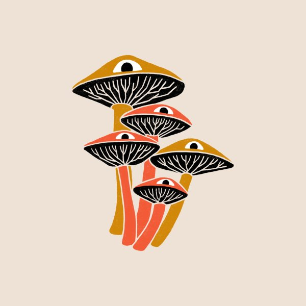 Design for Mushroom Cluster