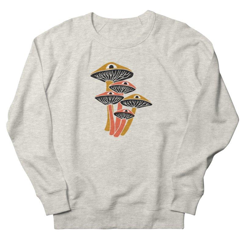 Mushroom Cluster Women's Sweatshirt by Katdog