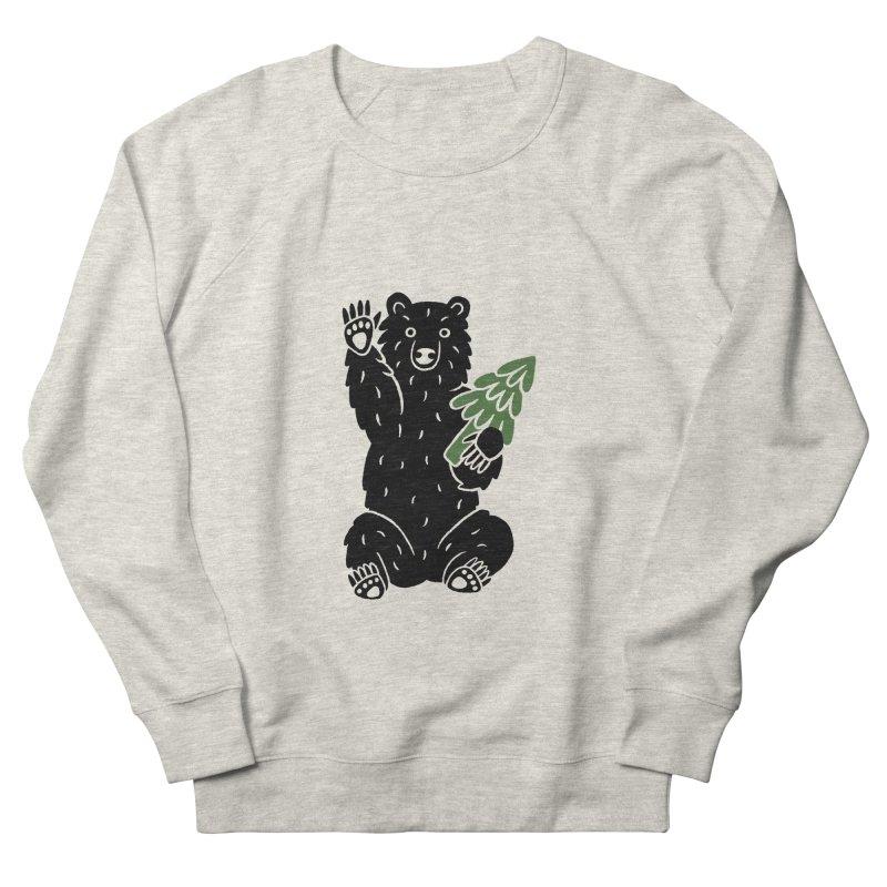 Bear in the Woods Men's Sweatshirt by Katdog