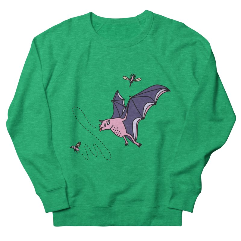 Hungry Bat Women's Sweatshirt by Katdog