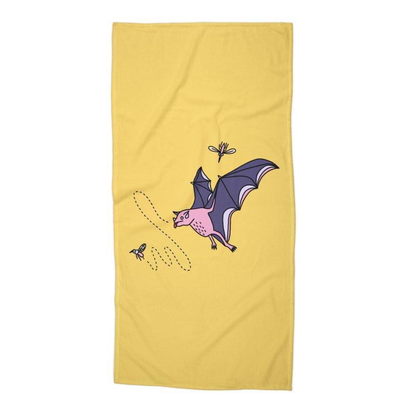 Hungry Bat Accessories Beach Towel by Katdog