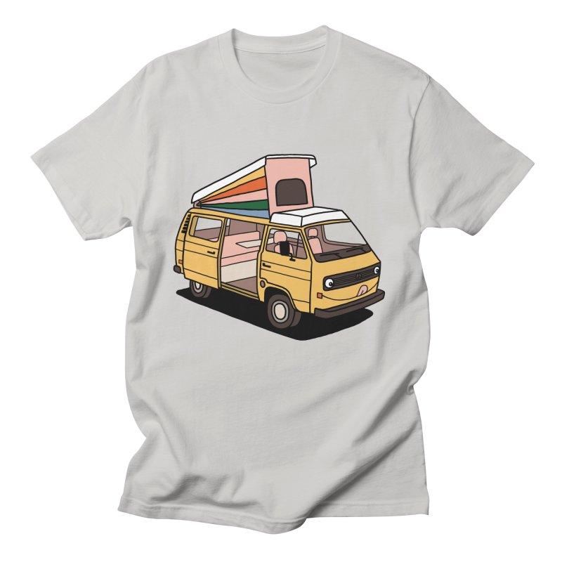 Smiley VW Westfalia Vanagon Women's T-Shirt by Katdog