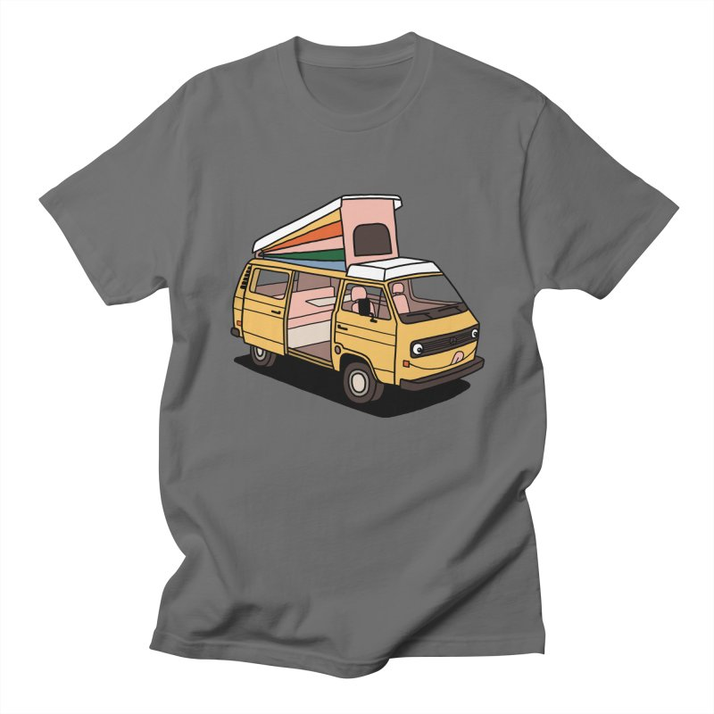 Smiley VW Westfalia Vanagon Men's T-Shirt by Katdog