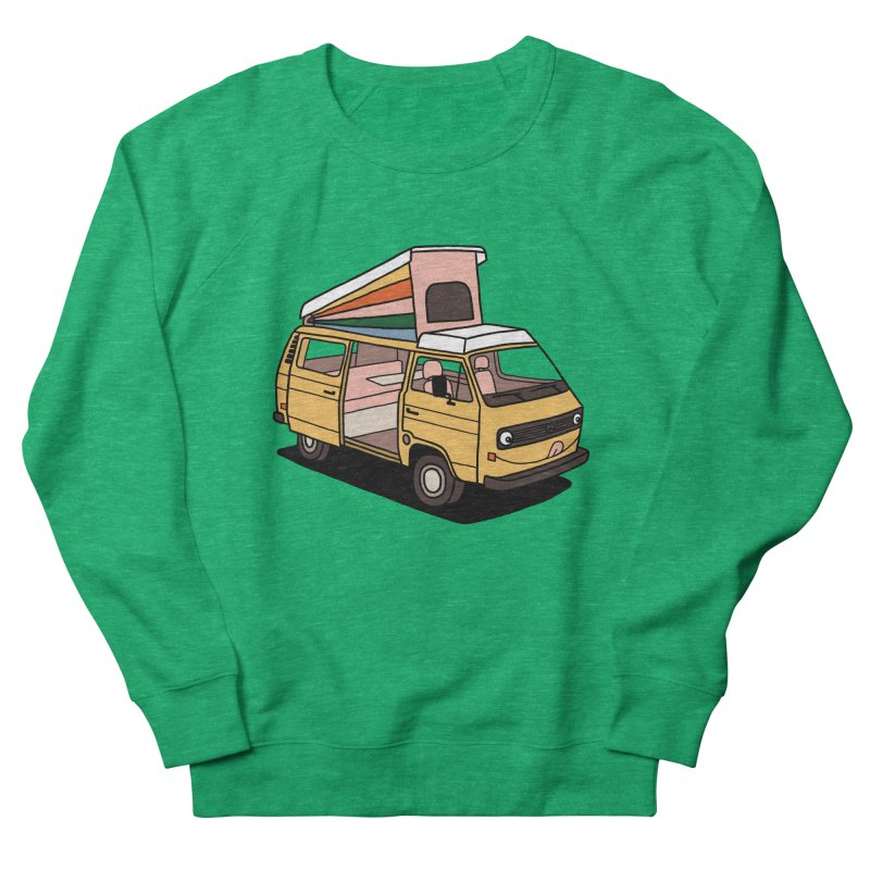 Smiley VW Westfalia Vanagon Women's Sweatshirt by Katdog