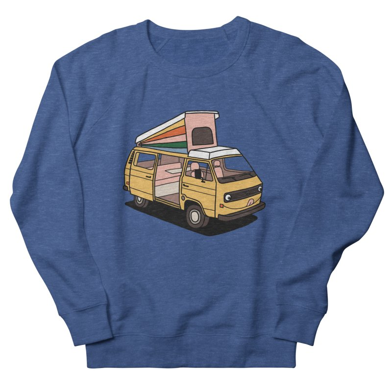 Smiley VW Westfalia Vanagon Men's Sweatshirt by Katdog