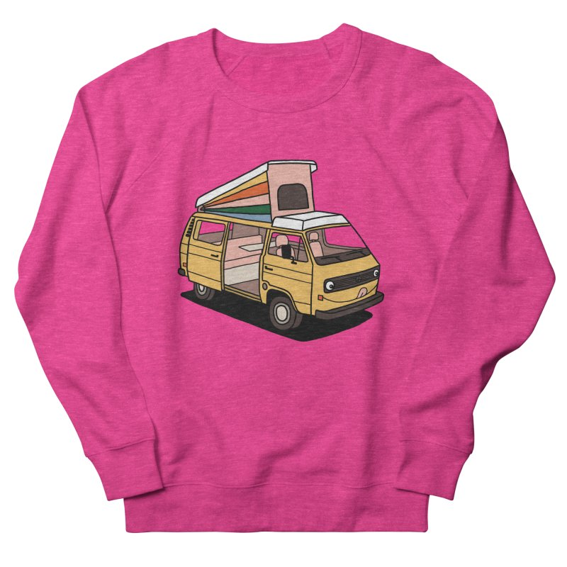Smiley VW Westfalia Vanagon Men's Sweatshirt by Katdog