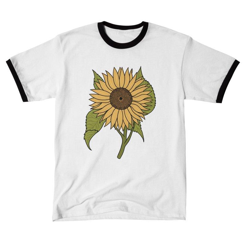 Bright Sunflower Women's T-Shirt by Katdog