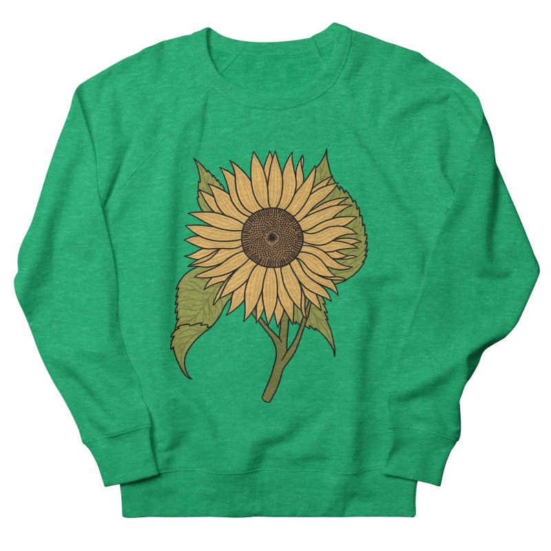 Bright Sunflower Women's Sweatshirt by Katdog