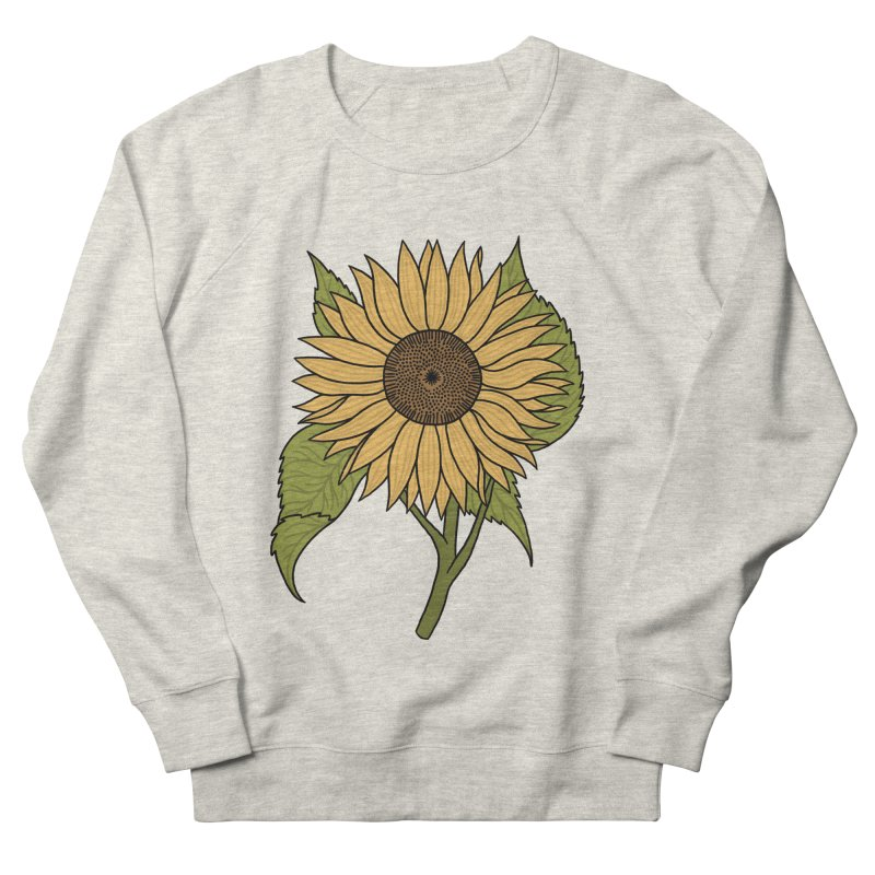Bright Sunflower Men's Sweatshirt by Katdog