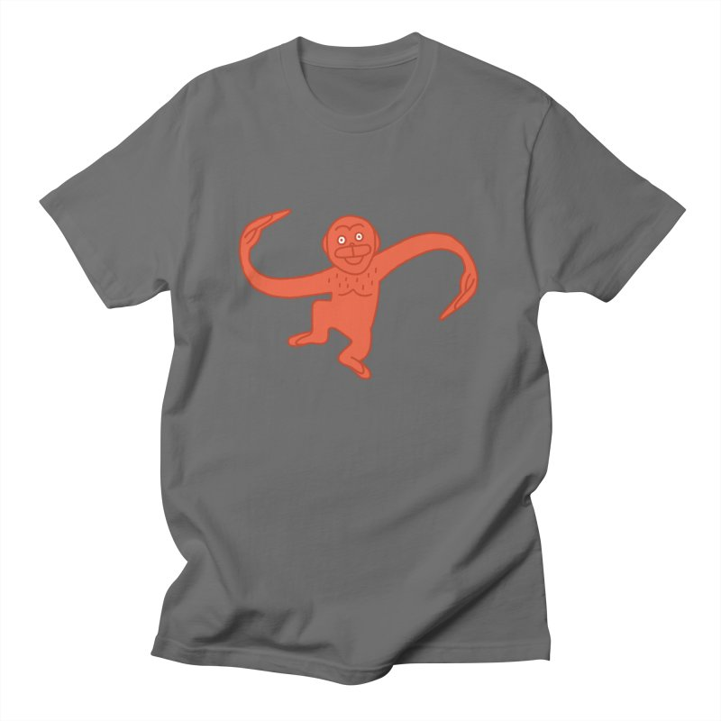 Monkey Chain Men's T-Shirt by Katdog