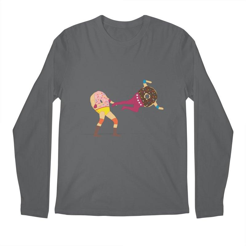 Dropkicks and Donuts Men's Longsleeve T-Shirt by kateforay's Shop