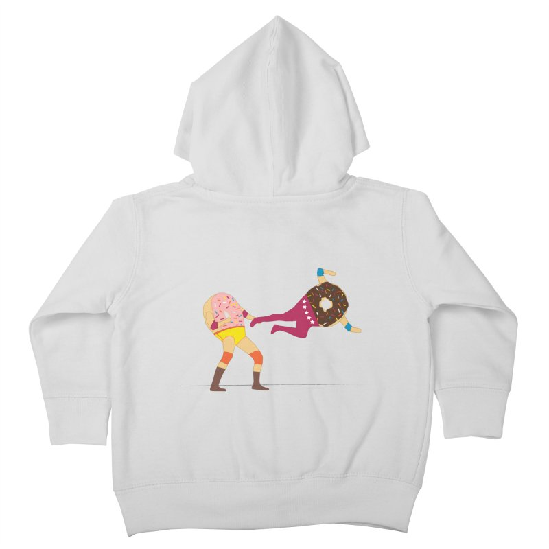 Dropkicks and Donuts Kids Toddler Zip-Up Hoody by kateforay's Shop