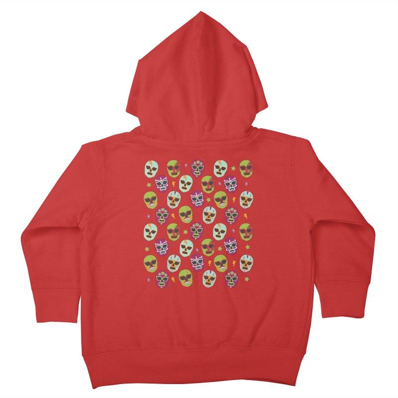 Máscaras (4 Color) Kids Toddler Zip-Up Hoody by kateforay's Shop
