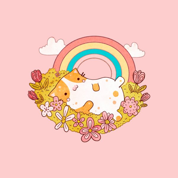 image for Flower Rainbow Cat