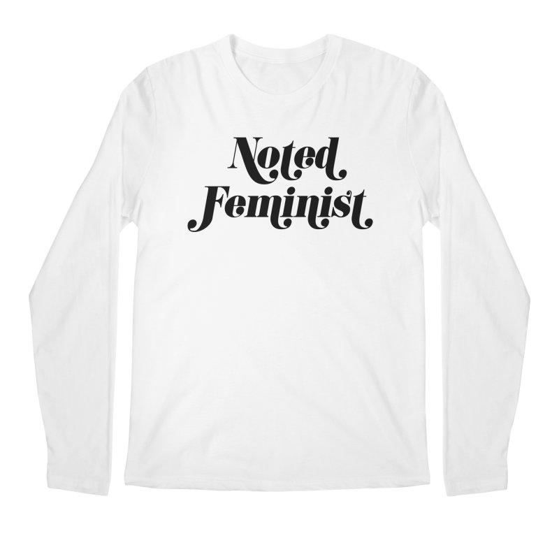 Noted feminist Men's Regular Longsleeve T-Shirt by Kate Gabrielle's Artist Shop