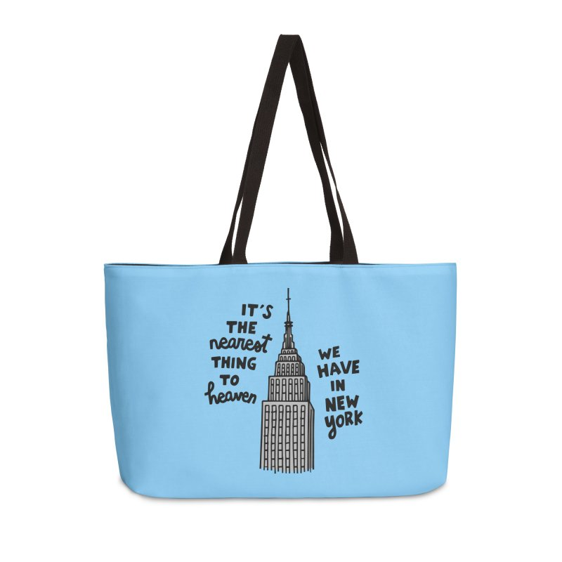 Nearest thing to heaven Accessories Weekender Bag Bag by Kate Gabrielle's Artist Shop
