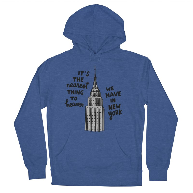 Nearest thing to heaven Women's French Terry Pullover Hoody by Kate Gabrielle's Artist Shop