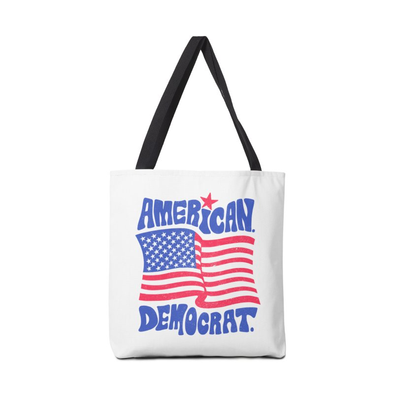 American. Democrat. Accessories Tote Bag Bag by Kate Gabrielle's Artist Shop