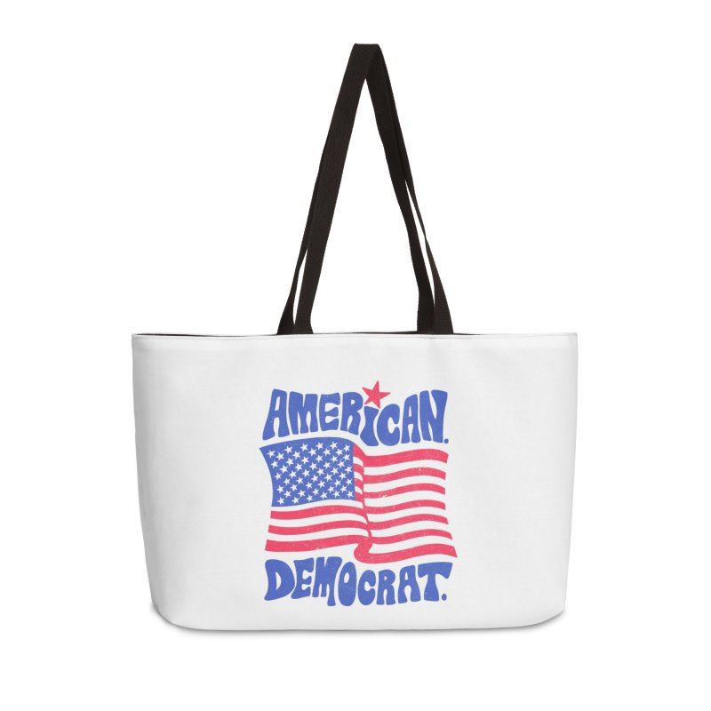 American. Democrat. Accessories Weekender Bag Bag by Kate Gabrielle's Artist Shop