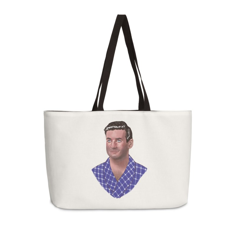 Rod Taylor in Sunday in New York Accessories Weekender Bag Bag by Kate Gabrielle's Artist Shop