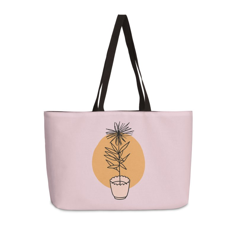 Dear Heart plant Accessories Weekender Bag Bag by Kate Gabrielle's Threadless Shop