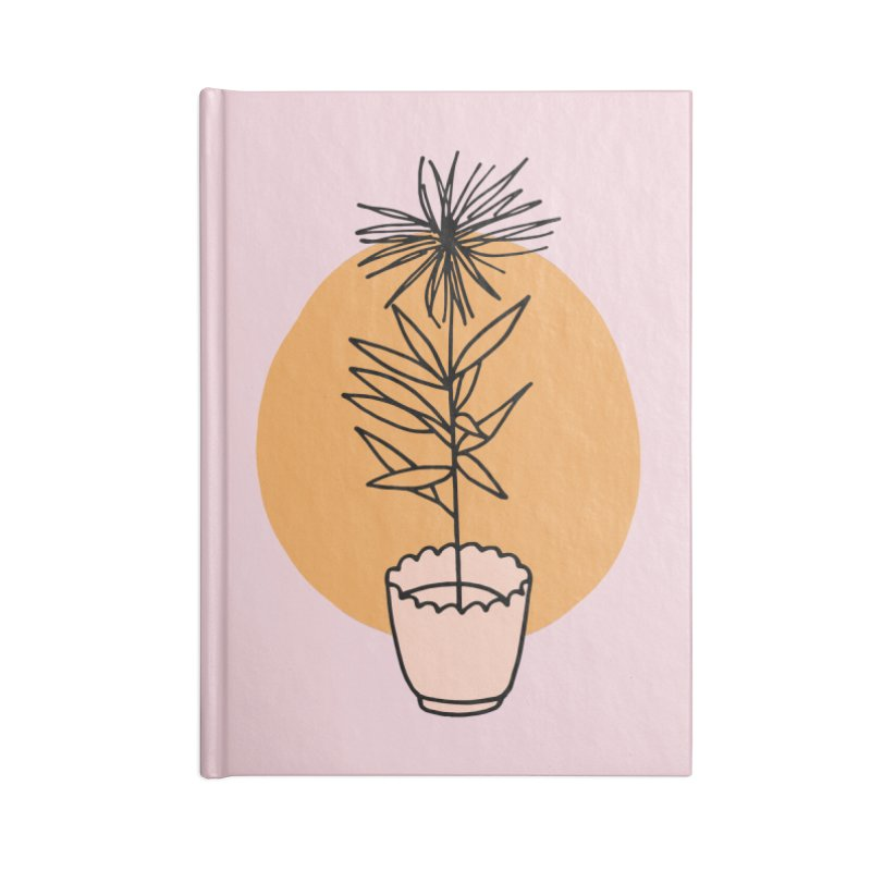 Dear Heart plant Accessories Blank Journal Notebook by Kate Gabrielle's Threadless Shop