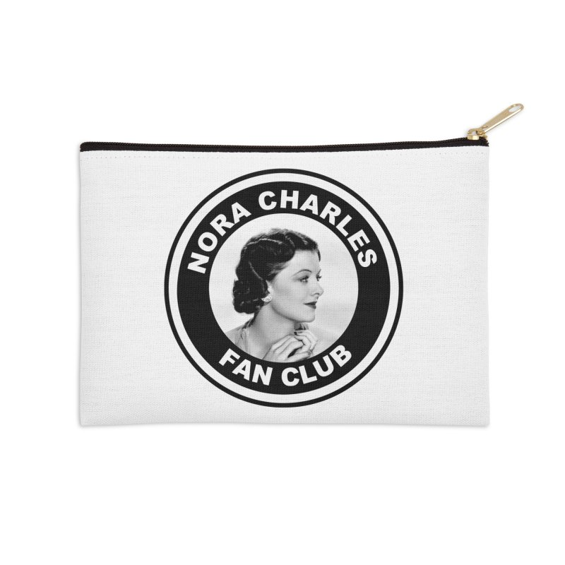 Nora Charles Fan Club Accessories Zip Pouch by Kate Gabrielle's Threadless Shop