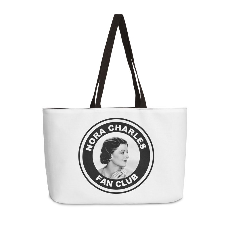 Nora Charles Fan Club Accessories Weekender Bag Bag by Kate Gabrielle's Threadless Shop