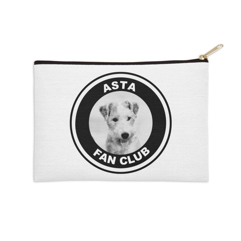 Asta Fan Club Accessories Zip Pouch by Kate Gabrielle's Threadless Shop