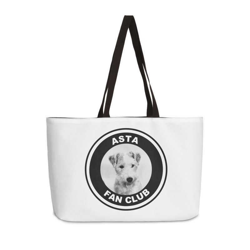 Asta Fan Club Accessories Weekender Bag Bag by Kate Gabrielle's Threadless Shop