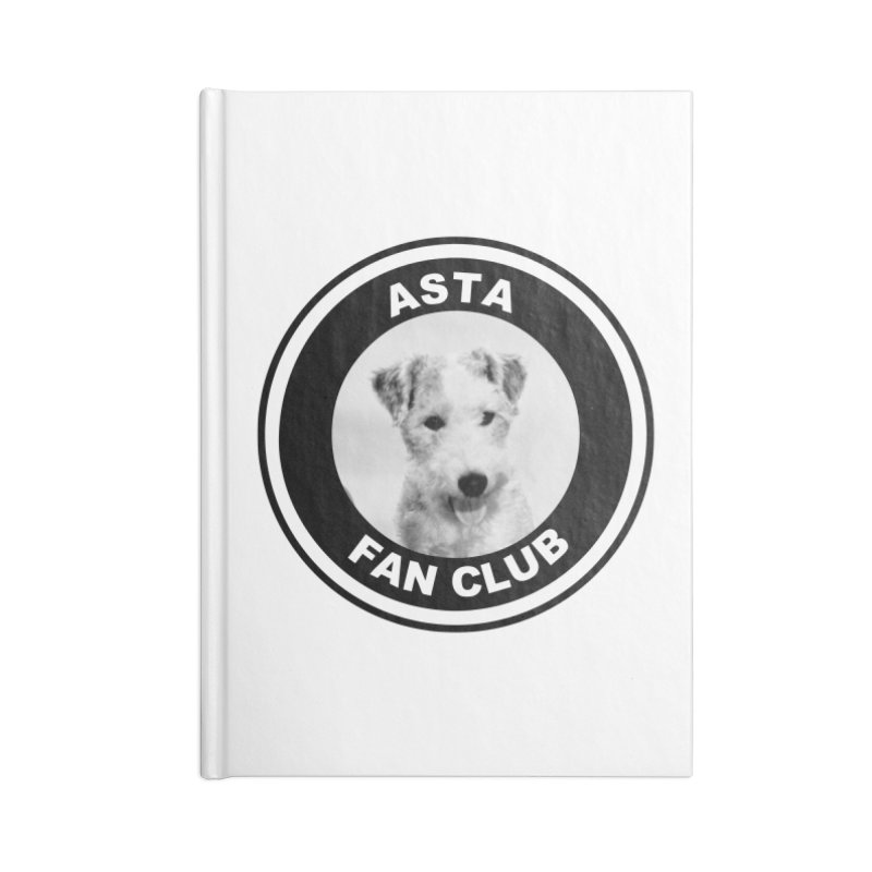 Asta Fan Club Accessories Blank Journal Notebook by Kate Gabrielle's Threadless Shop