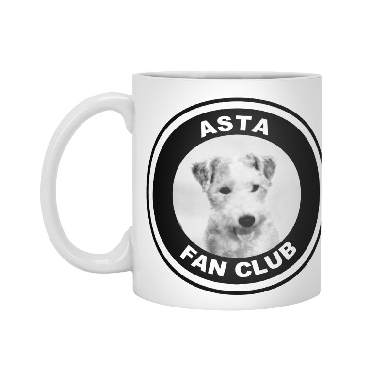 Asta Fan Club Accessories Standard Mug by Kate Gabrielle's Threadless Shop