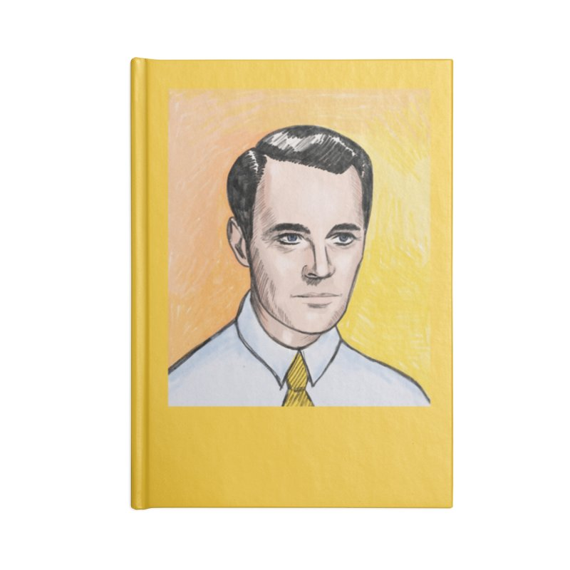 Henry Fonda Accessories Lined Journal Notebook by Kate Gabrielle's Threadless Shop