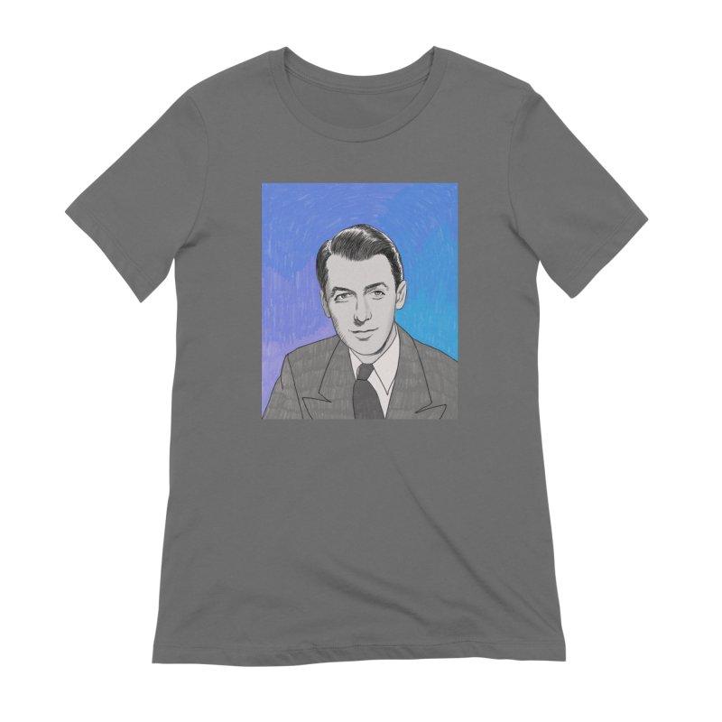 James Stewart Women's T-Shirt by Kate Gabrielle's Threadless Shop