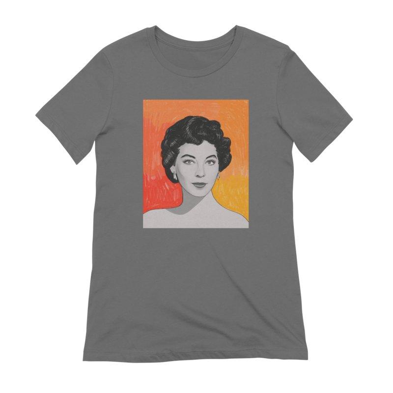 Ava Gardner Women's T-Shirt by Kate Gabrielle's Threadless Shop