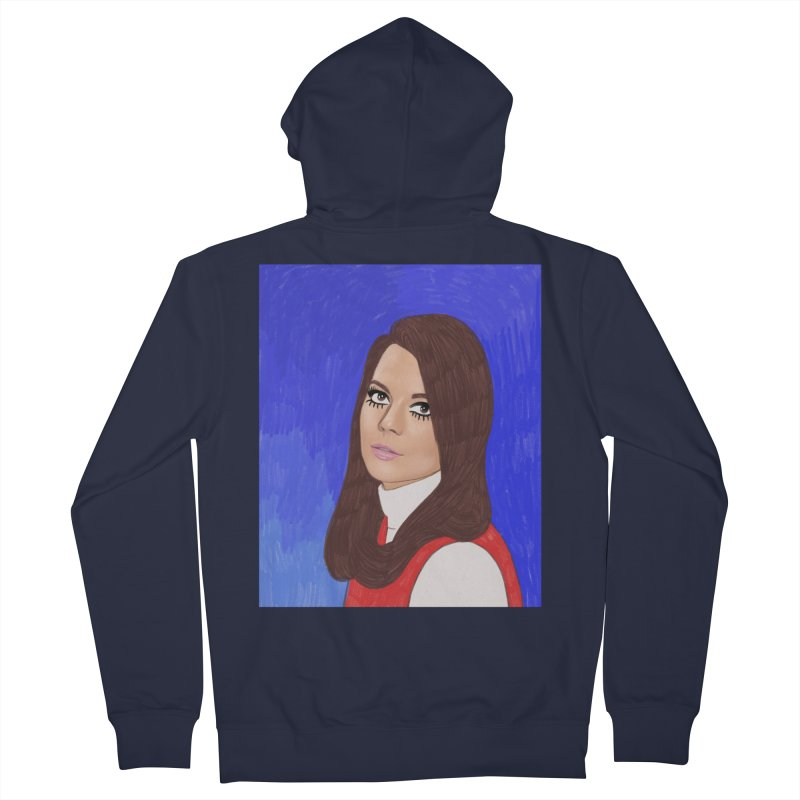 Natalie Wood Men's French Terry Zip-Up Hoody by Kate Gabrielle's Threadless Shop