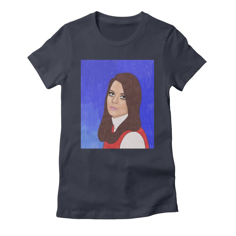 Natalie Wood Women's Fitted T-Shirt by Kate Gabrielle's Threadless Shop