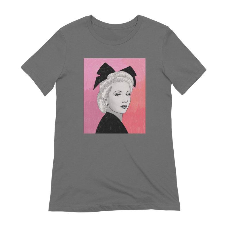 Ann Sothern Women's T-Shirt by Kate Gabrielle's Threadless Shop
