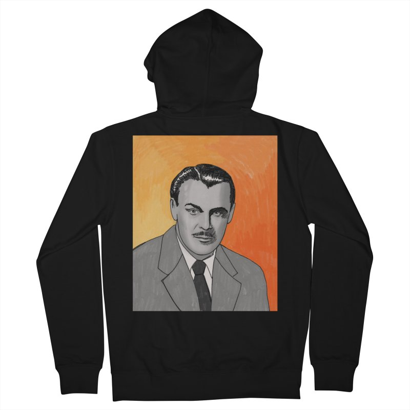 Brian Donlevy Men's French Terry Zip-Up Hoody by Kate Gabrielle's Threadless Shop