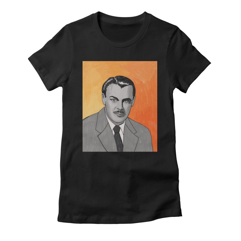 Brian Donlevy Women's Fitted T-Shirt by Kate Gabrielle's Threadless Shop