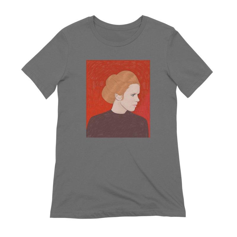 Liv Ullmann Women's T-Shirt by Kate Gabrielle's Threadless Shop