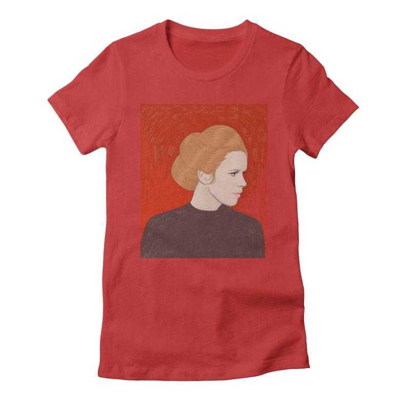 Liv Ullmann Women's Fitted T-Shirt by Kate Gabrielle's Threadless Shop