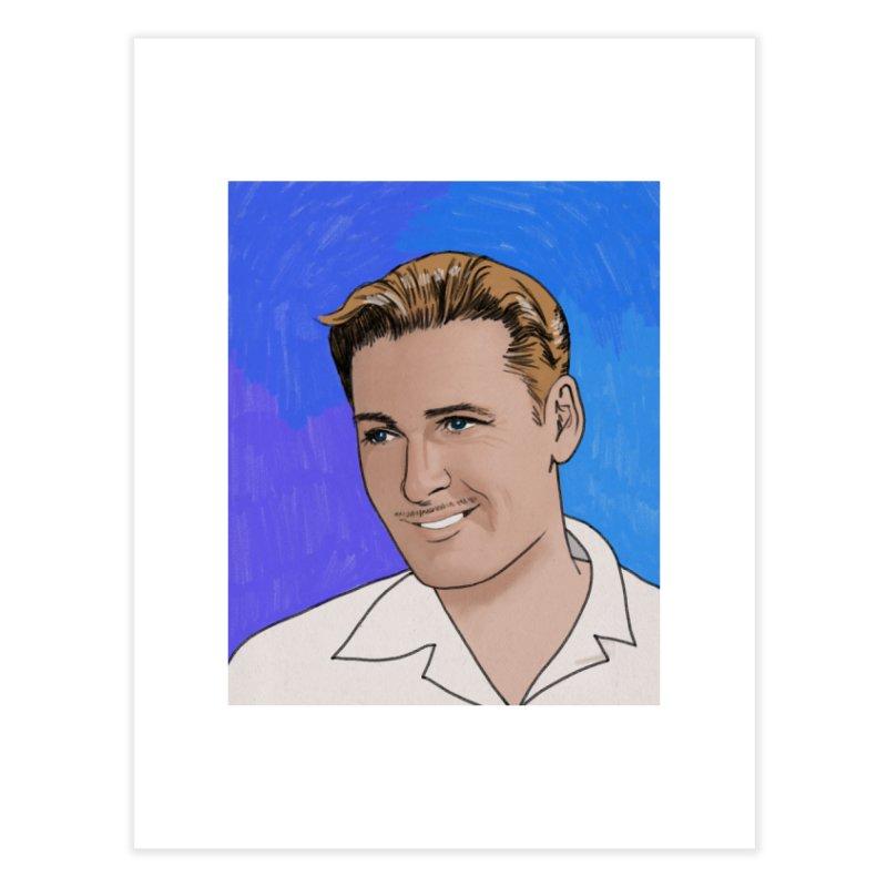 Errol Flynn Home Fine Art Print by Kate Gabrielle's Threadless Shop