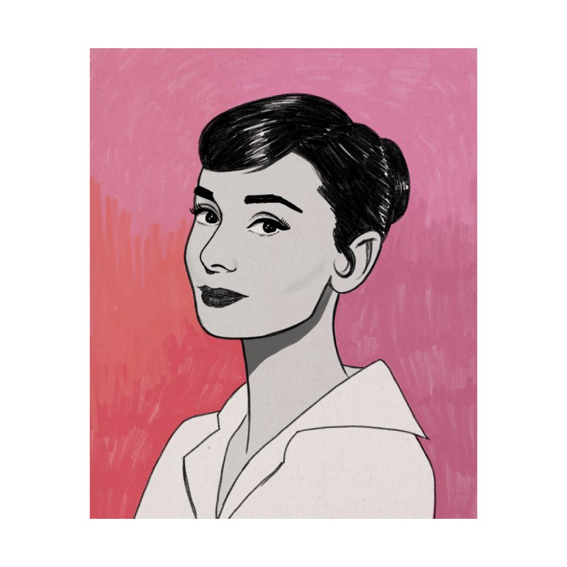Audrey Hepburn by Kate Gabrielle's Threadless Shop