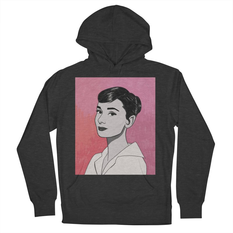 Audrey Hepburn Women's French Terry Pullover Hoody by Kate Gabrielle's Threadless Shop
