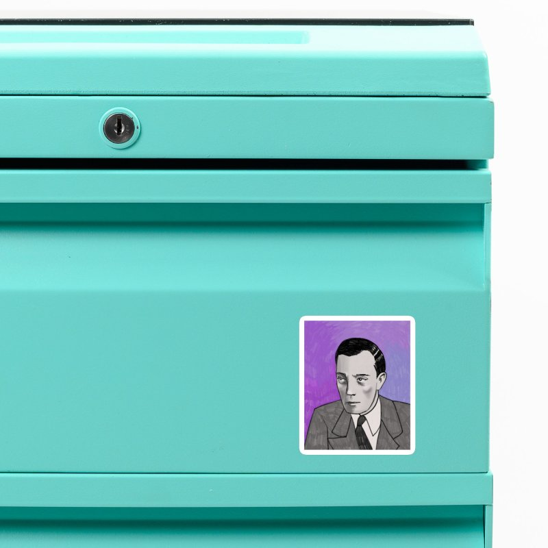 Buster Keaton Accessories Magnet by Kate Gabrielle's Threadless Shop