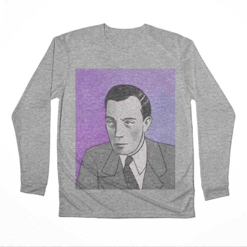 Buster Keaton Women's Performance Unisex Longsleeve T-Shirt by Kate Gabrielle's Threadless Shop