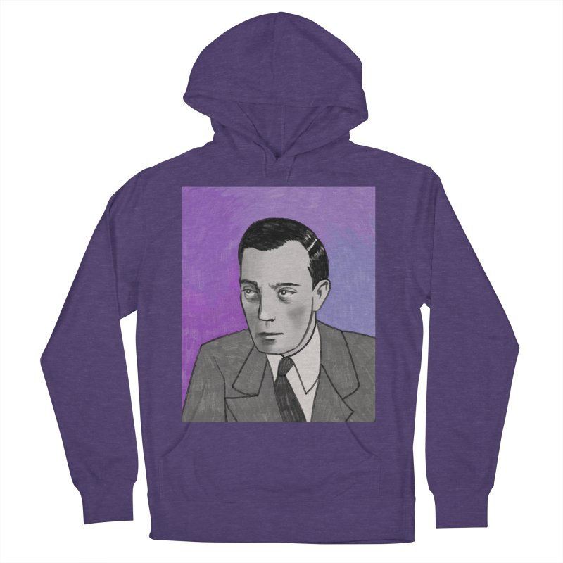 Buster Keaton Men's French Terry Pullover Hoody by Kate Gabrielle's Threadless Shop
