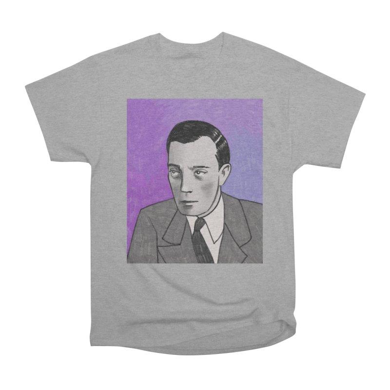 Buster Keaton Women's Heavyweight Unisex T-Shirt by Kate Gabrielle's Threadless Shop
