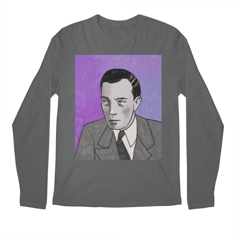 Buster Keaton Men's Regular Longsleeve T-Shirt by Kate Gabrielle's Threadless Shop